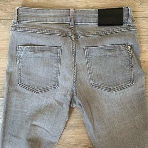Zara grey skinny jeans